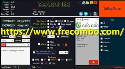 Dork Searcher ez V 13.0.1.4 Paid Version Cracked by Team Otimus