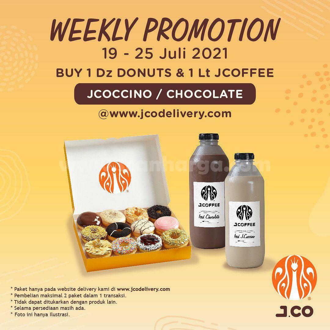 Promo JCO Diskon Weekly Promotion 19 - 25 Juli 2021
