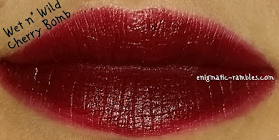 Swatch-Wet-n-Wild-MegaLast-Lip-Color-Cherry-Bomb-918D