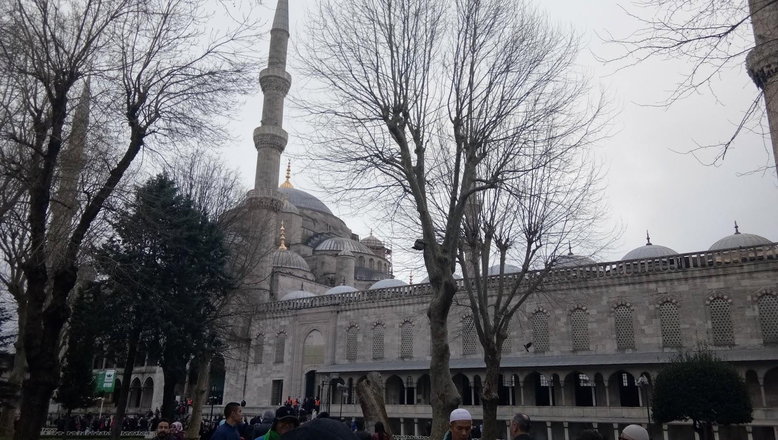 Pengalaman Di Turki Kunjungan Ke Masjid Biru Istanbul Iqbalogi Com