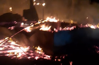 Muncul Api Saat Nonton Tivi, Aminah Warga Aceh Timur dan Empat Anaknya Selamat dari Kebakaran