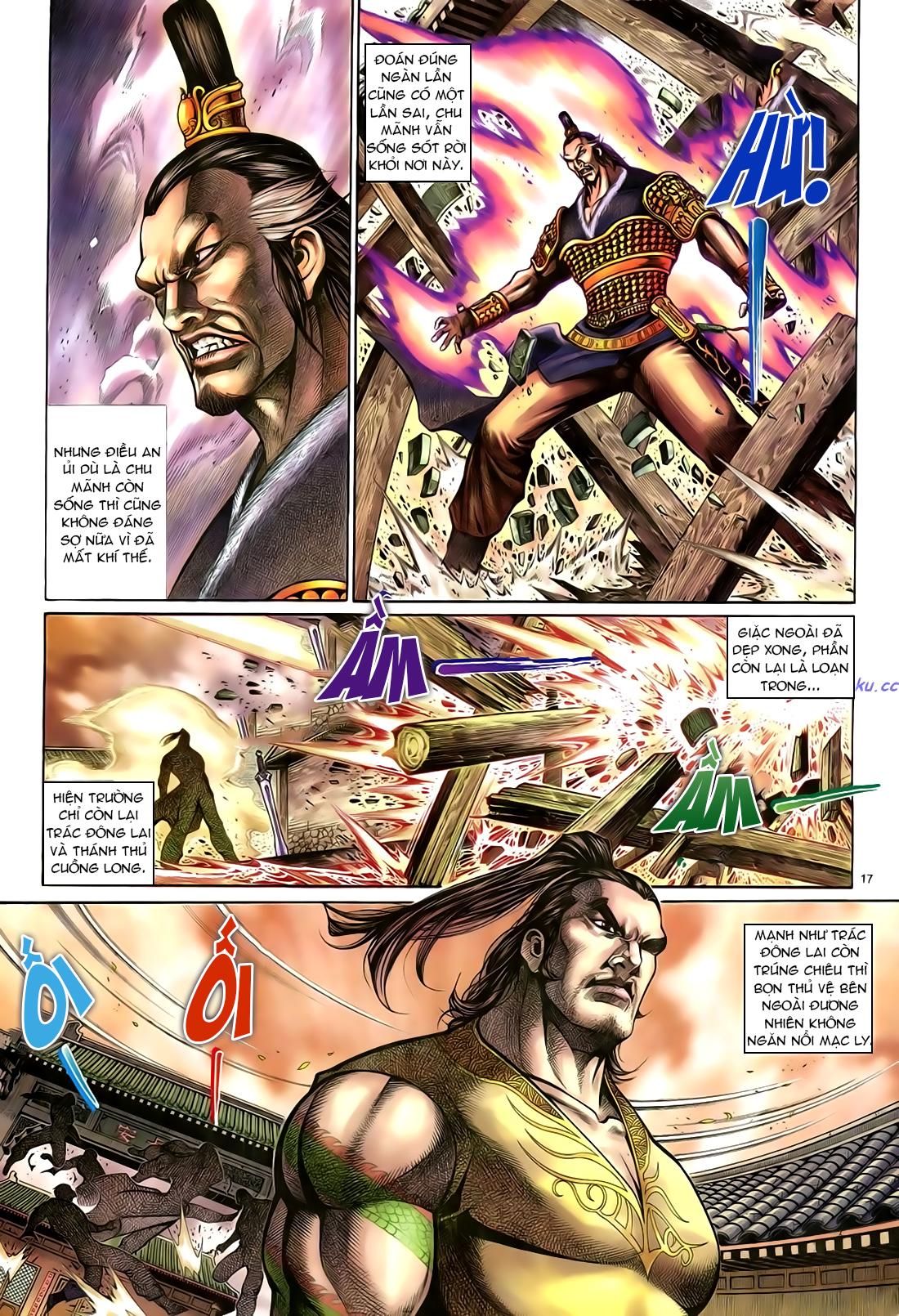 Anh hùng vô lệ Chap 23 trang 18