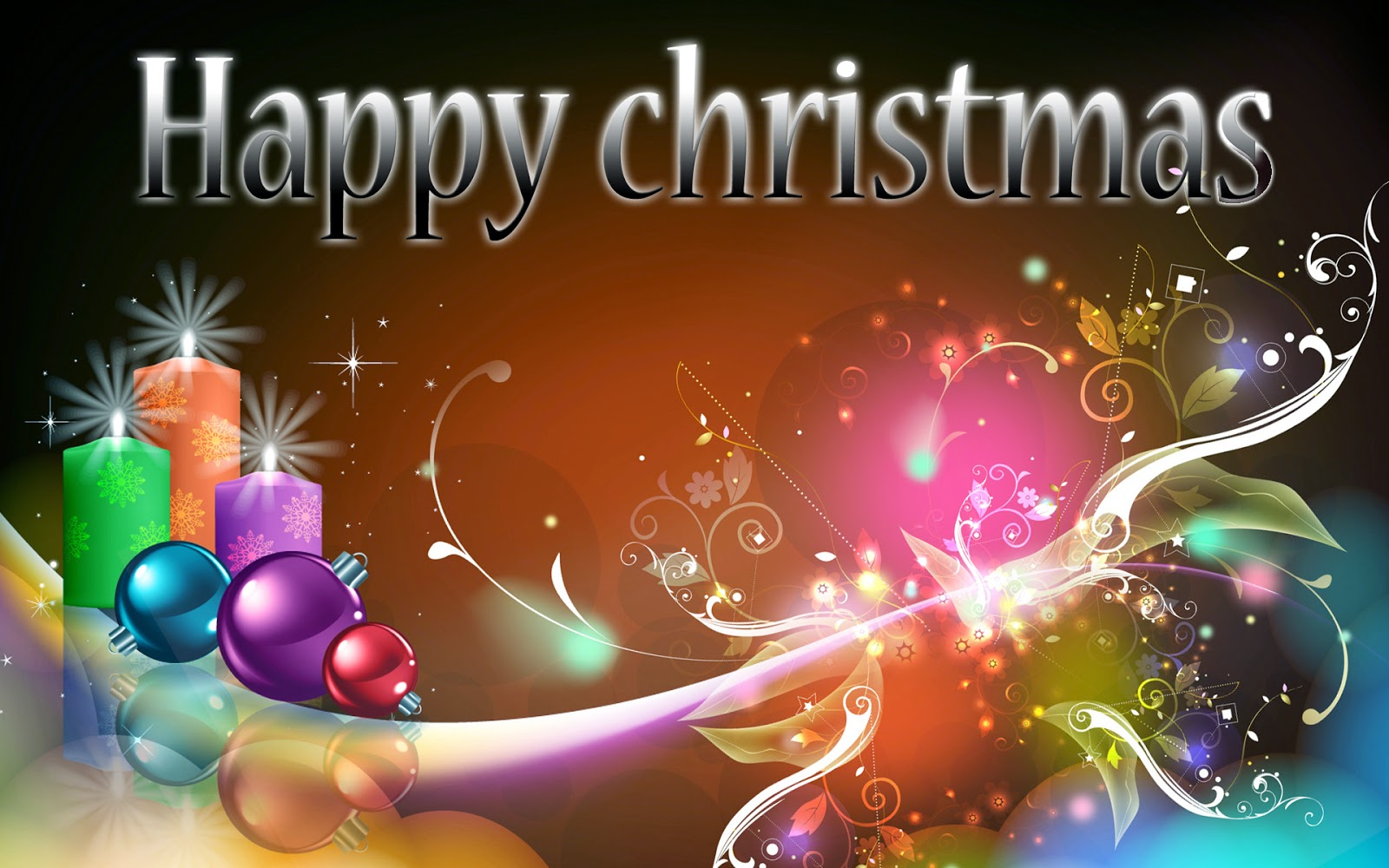 Marry Christmas HD Wallpaper 2014