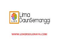 Lowongan Kerja Solo Marketing, Accounting, Barista (Café At Eden) di Lima Daun Semanggi