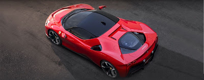 Ferrari unveils its first plug-in production car