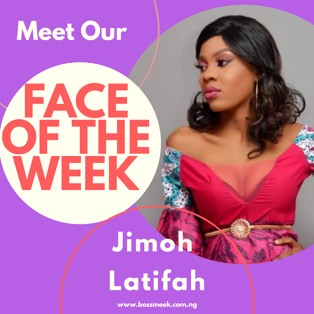 Meet Our Face of the Week Jimoh Latifah (Female)