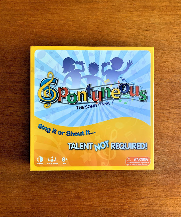 Table Top game Spontuneous The Song Game #ad
