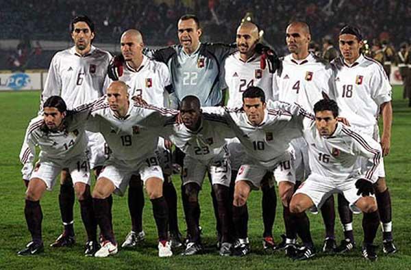 Formación de Venezuela ante Chile, Clasificatorias Alemania 2006, 8 de junio de 2005