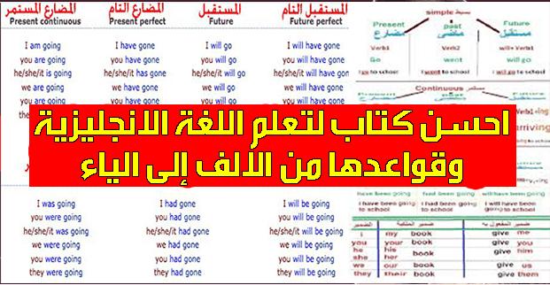 تحميل PDF: احسن كتاب لتعلم اللغة الانجليزية وقواعدها من الالف إلى الياء