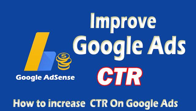 increase CTR Google Ads