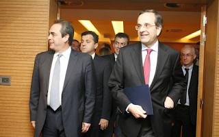 Το πλαίσιο της επαναδιαπραγμάτευσης του Μνημονίου εφόσον κερδίσει τις εκλογές έδωσε σήμερα ο πρόεδρος της ΝΔ Αντώνης Σαμαράς σε ομιλία του στο ΕΒΕΑ.