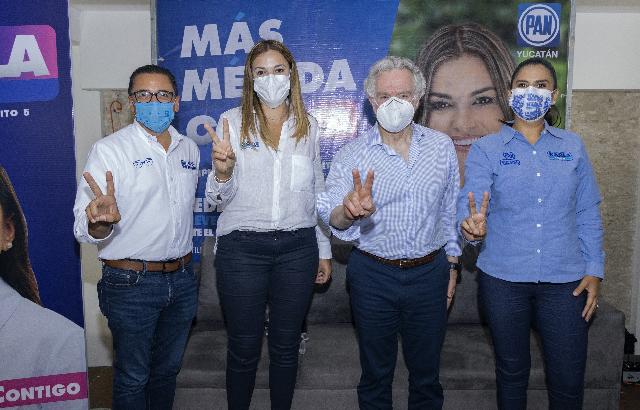 Por más empleos para las mujeres yucatecas: Cecilia Patrón