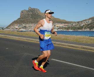 Axel kurz vor Hout Bay, Two Oceans Marathon 2018