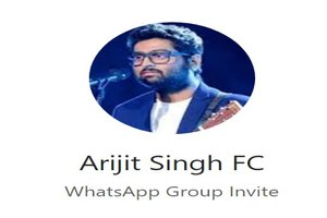 Arijit Singh WhatsApp Group Link Of 2018