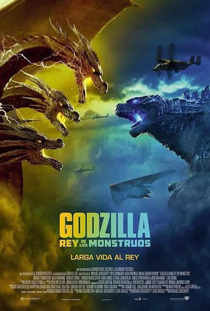 Póster película Godzilla Rey de los monstruos