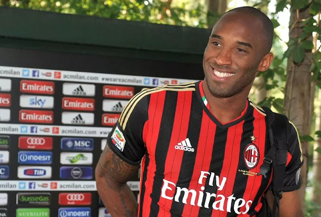 Kobe Bryant is known as an AC Milan supporter