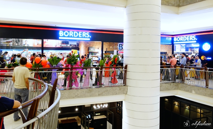 Borders The Gardens Mall 3