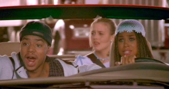 Clueless, Dionne & Cher Clueless, Car Scene Clueless, Learning How To Drive
