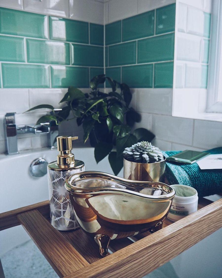 Przytulne mieszkanie urządzone w myśl filozofii hygge, wystrój wnętrz, wnętrza, urządzanie domu, dekoracje wnętrz, aranżacja wnętrz, inspiracje wnętrz,interior design , dom i wnętrze, aranżacja mieszkania, modne wnętrza, hygge, styl skandynawski, Scandinavian style, łazienka, bathroom