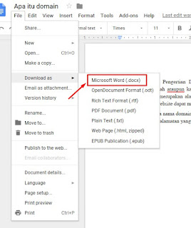 Google Docs - Convert PDF to Word