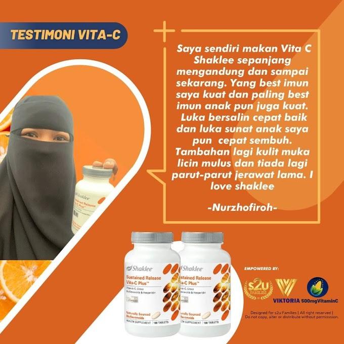 Koleksi Testimoni Pengguna Vitamin C Shaklee