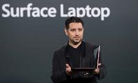 Ο Panos Panay, αντιπρόεδρος της Microsoft για το Surface Computing, μιλάει για το νέο Surface Laptop της Microsoft