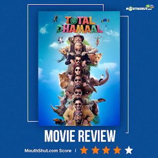 Total Dhamaal Movie Reviews