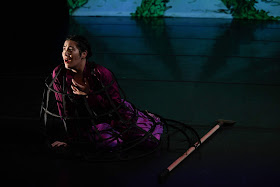 IN REVIEW: mezzo-soprano NIKOLA PRINTZ as Ermelinda in Ars Minerva's November 2019 modern-world-première production of Domenico Freschi's ERMELINDA [Photograph by Teresa Tam, © by Ars Minerva]