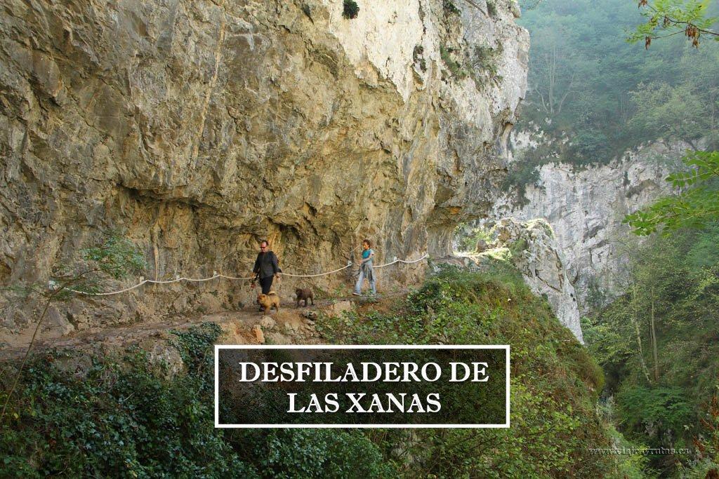 El desfiladero de Las Xanas (Asturias)