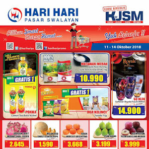 Katalog Promo Hari Hari Swalayan Weekend 15 - 18 November 2018