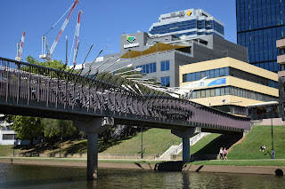 Parramatta Public Art | Elizabeth Footbridge Sculpture by Milne & Stonehouse