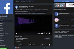 Membuat Mode Malam di Facebook, Apa Bisa?