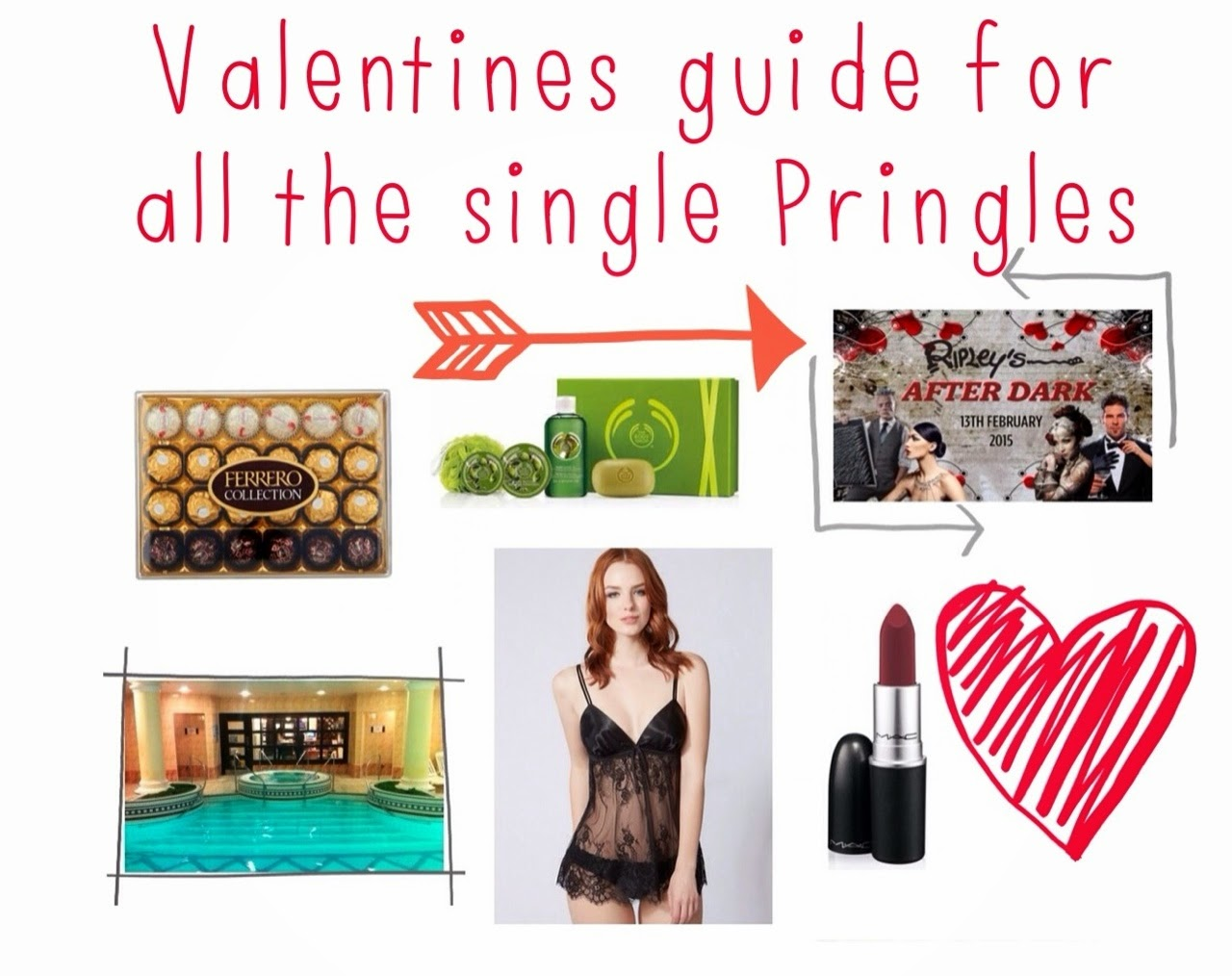 Inspire Magazine Online - UK Fashion, Beauty & Lifestyle Blog | Valentines Gifts for all you Single Pringles; Inspire Magazine; Inspire Magazine Online; Valentines; Valentines Day Gift Guide;