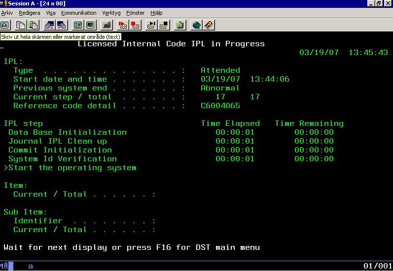 sistemas operativos sistema operativo os400