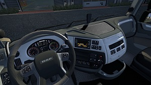DAF Euro 6 new interior mod by OveRTRucK