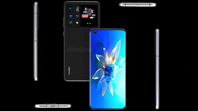 سلسلة Huawei P50 قد تضم شاشتين