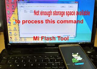 Atasi Problem Not Enough Storage Space Saat Flashing Xiaomi Note 3