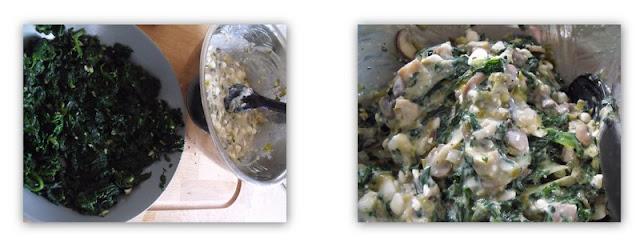 mushrooms, spinach, puff pastry rolls, vegetarian,