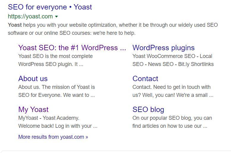 Yoast SEO Meta Description