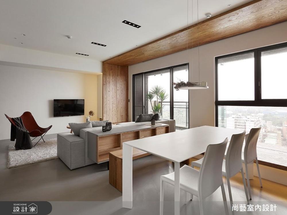 裝潢,木質裝潢,德屋海島型實木地板,客廳,反轉,德屋建材,健康
