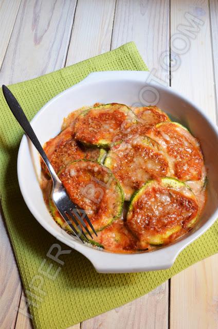 hiperica di lady boheme blog di cucina, ricette gustose, facili e veloci. Parmigiana di zucchine tonde al forno