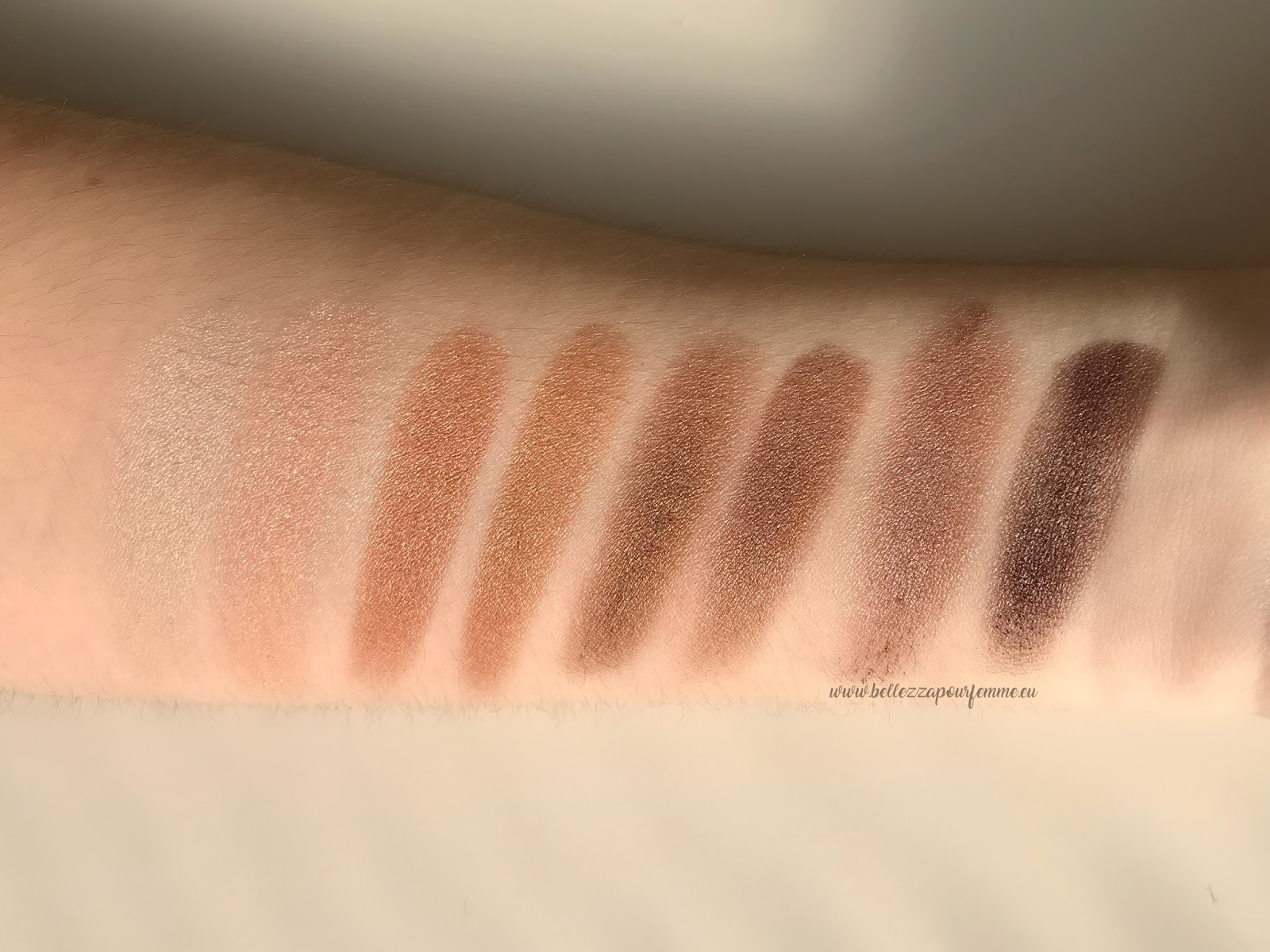 CATRICE The Precious COPPER Eyeshadow Palette swatch