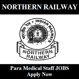 Railway Recruitment Cell, RRC, Northern Railway, NR, New Delhi, 12th, Para Medical Staff, Indian Railway, RAILWAY, Railway, freejobalert, Sarkari Naukri, Latest Jobs, northern railway logo