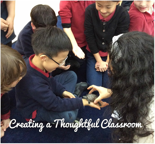 Tuning In to Sharing the Planet, Creating a Thoughtful Classroom