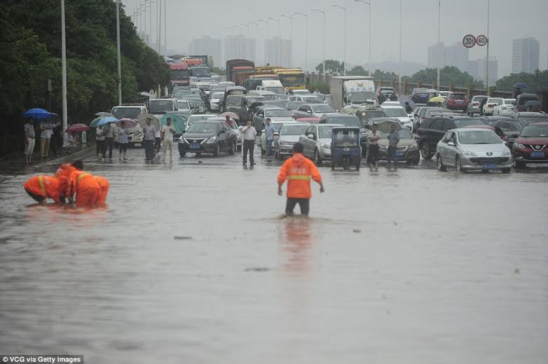 a torrential downpour in the south Meanwhile in nigeria, at least 100 people have died as torrential downpour and floods continue to plague the south and central regions of the country a national disaster has been declared in the.