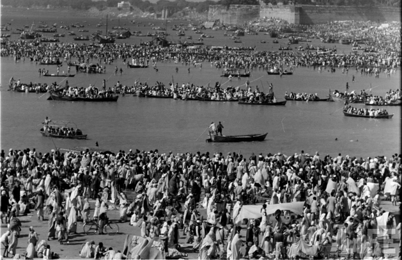 1954 Kumbh Mela In Allahabad Uttar Pradesh 70