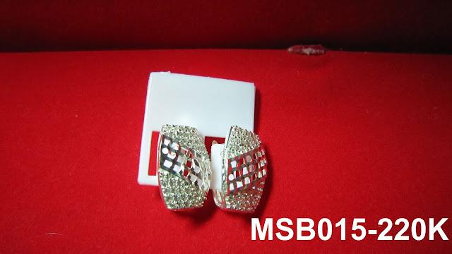 trangsuc.top - Bông tai kiểu phối đá trắng cao cấp MSB015 - Giá: 220,000 VNĐ - Liên hệ mua hàng: 0906   846366(Mr.Giang)
