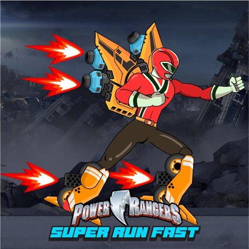 Power Ranger Run Fast - Escape Zombies