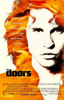 Cartel de la película The Doors, Oliver Stone, 1991