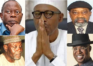 LEAKED: Buhari Cabinet Reshuffled List; Oshiomhole To Takeover Works & Housing, Ngige, Onu Jostle SGF, Kingibe, Silva, Other Penciled